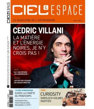 Cédric Villani : La matière et l'énergie noires, je n'y crois pas !